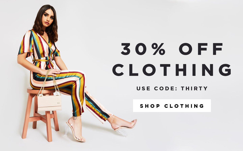 Public Desire Public Desire: 30% off clothing