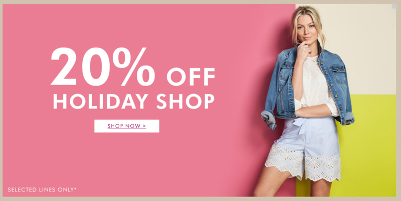 Fashion World Fashion World: Sale 20% off dresses, covers up and swimwear for your holiday wardrobe