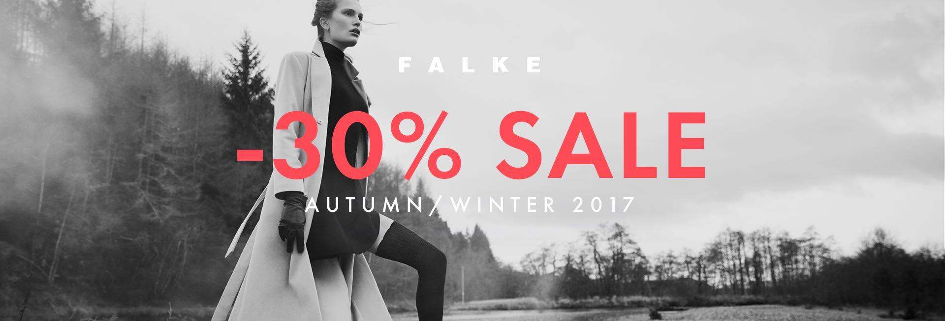 Falke: Sale 30% off autumn/winter collection