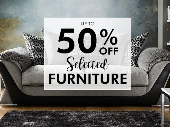 Fashion World: up to 50% off selected furniture
