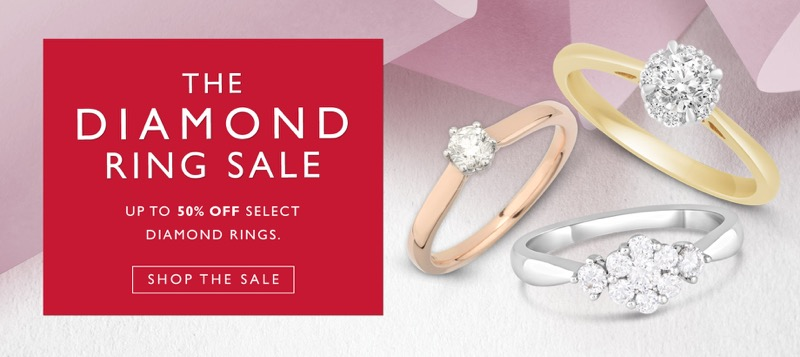 Fields: Sale up to 50% off diamond rings