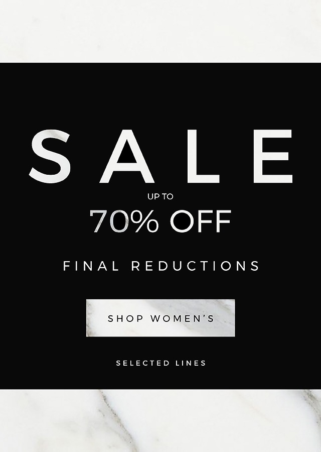 Flannels: Sale up to 70% off women's and men's luxury designer fashion