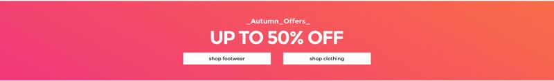 Footasylum: up to 50% off footwear & clothing