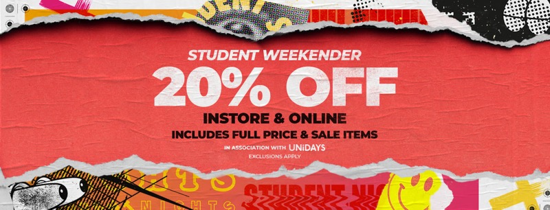 Footasylum: 20% off the latest trainers and apparel