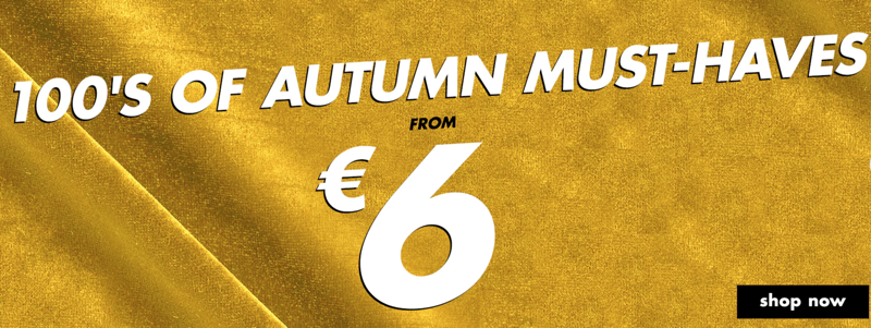 Forever 21: autumn must-haves from €6