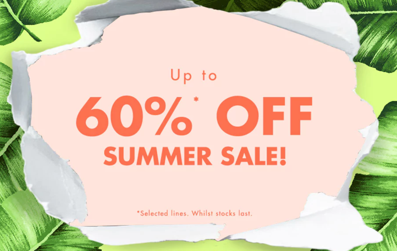 Forever 21: Summer Sale up to 60% off clothing, shoes and accessories