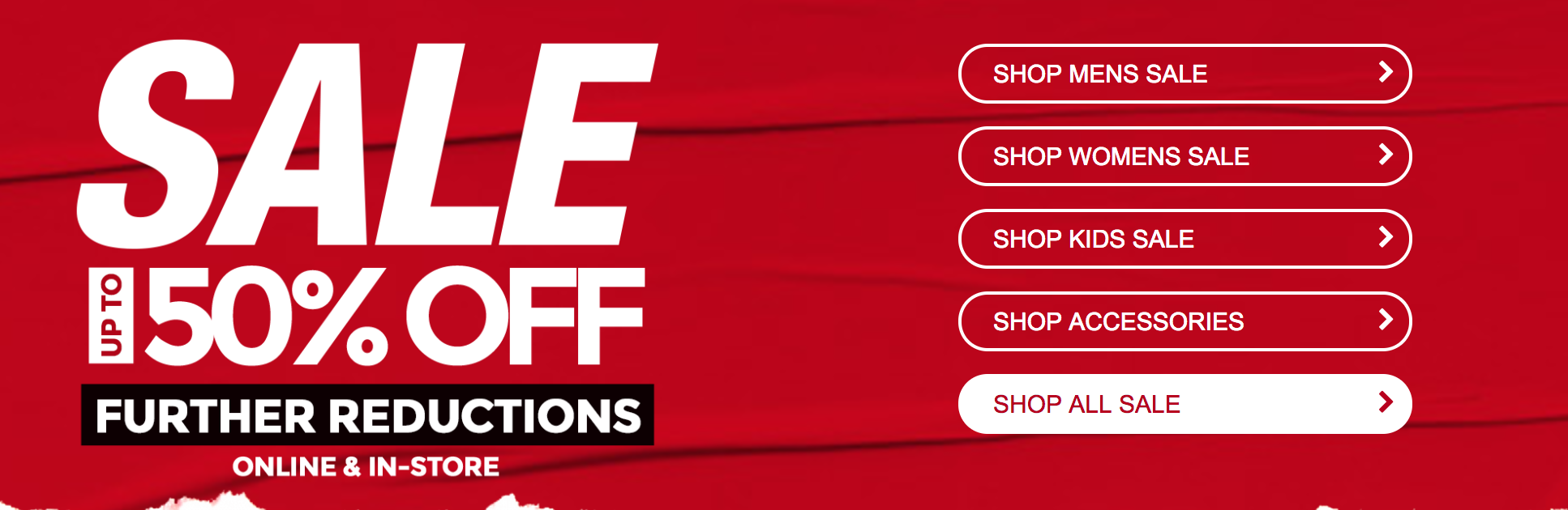 Footasylum: Sale up to 50% off shoes