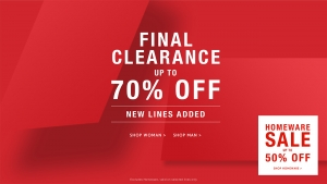 French Connection: final clearance up to 70% off