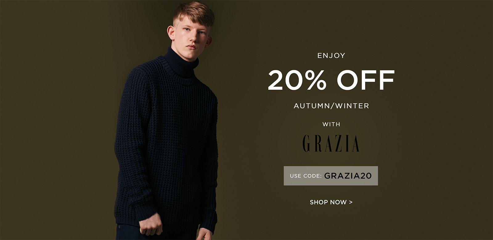 French Collection: 20% off autumn / winter collections