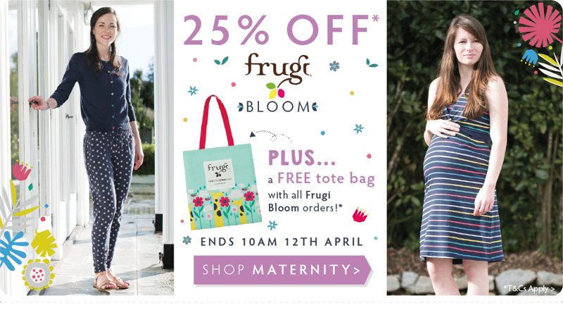 Frugi: 25% off organic baby clothes