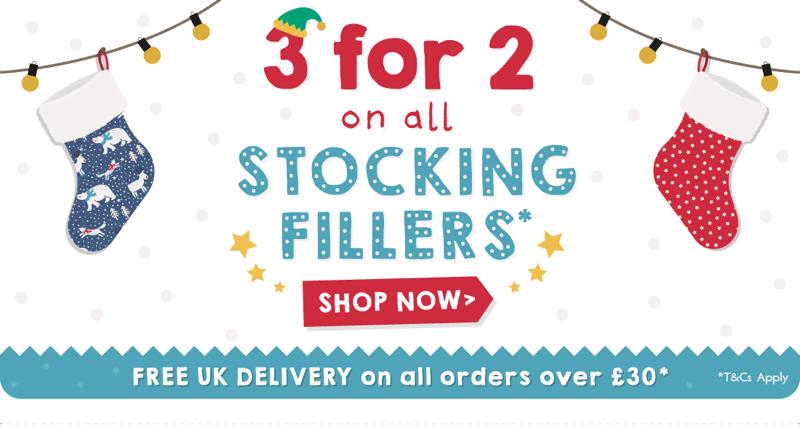 Frugi Frugi: 3 for 2 on stocking fillers