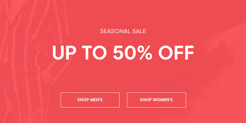 GANT: up to 50% off clothing, shoes, watches and accessories