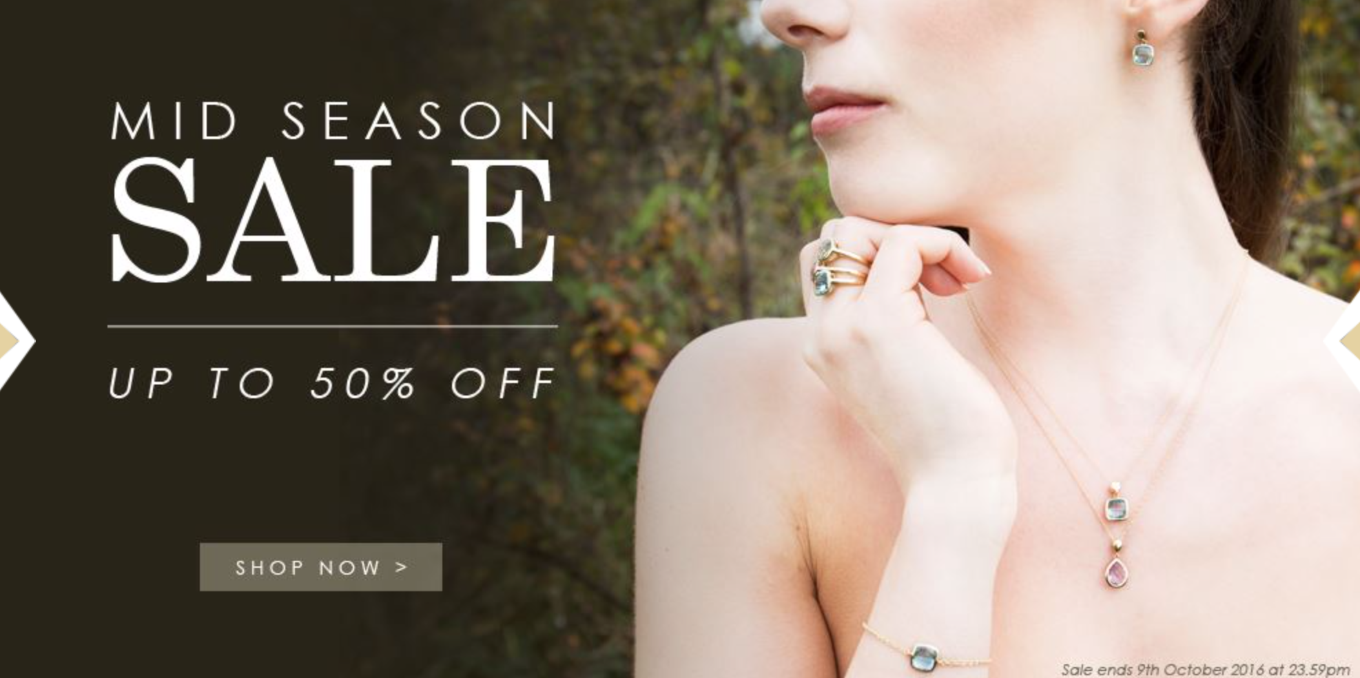 Gemondo: Sale up to 50% off jewellery