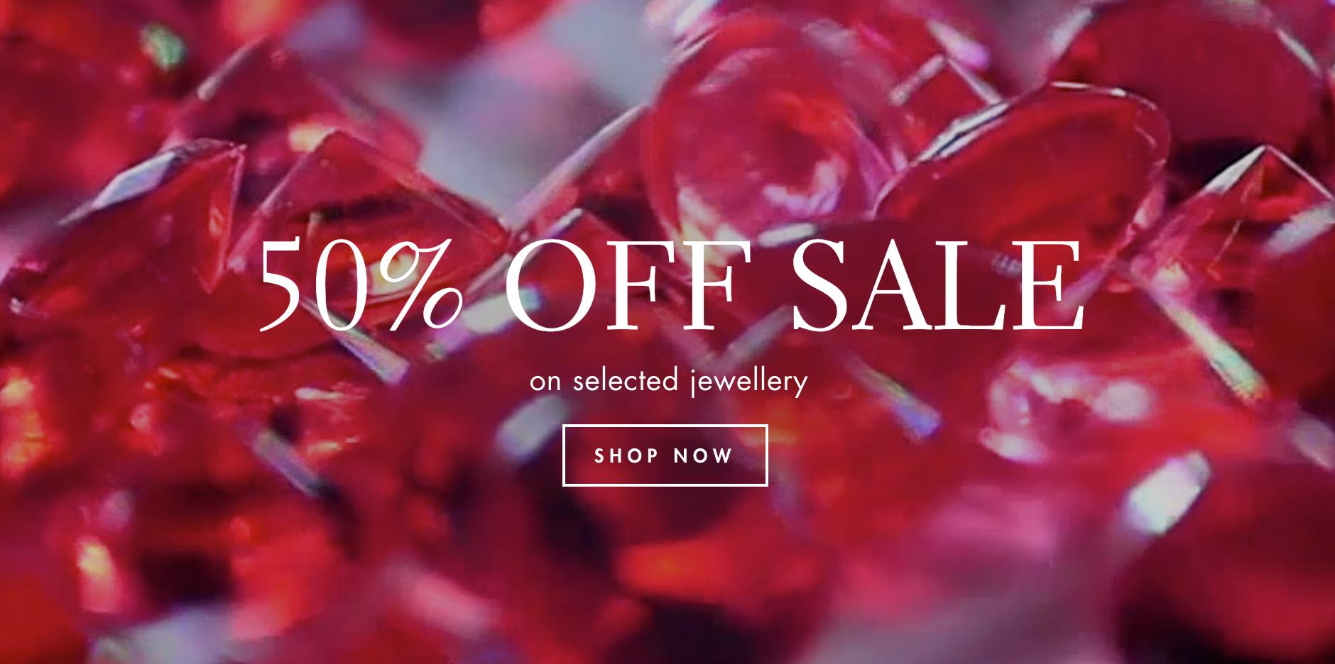 Gemondo Jewellery Gemondo Jewellery: Sale 50% off on selected jewellery