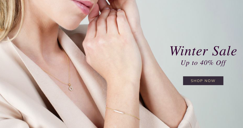 Gemondo Jewellery: Winter Sale up to 40% off jewellery treats and Christmas gifts