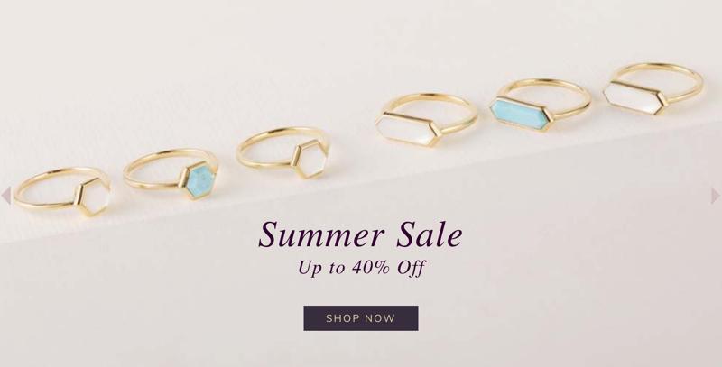 Gemondo Jewellery: Summer Sale up to 40% off jewellery