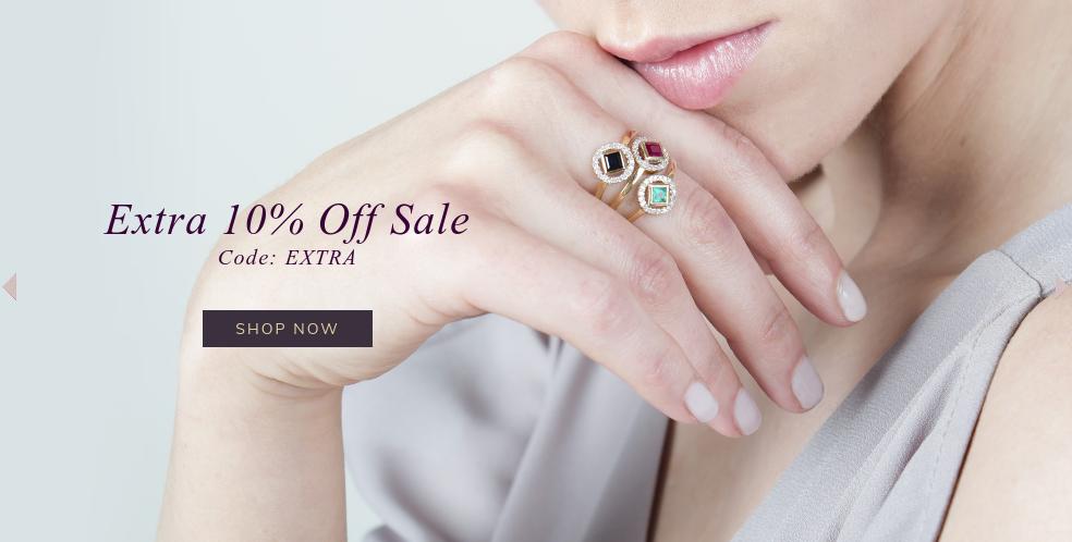 Gemondo Jewellery: extra 10% off jewellery from sale