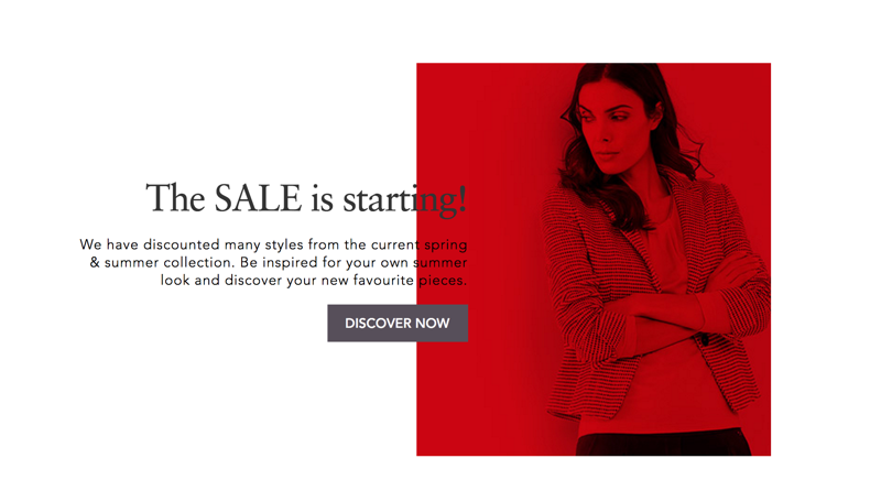Gerry Weber: Sale up to 75% off spring & summer collection