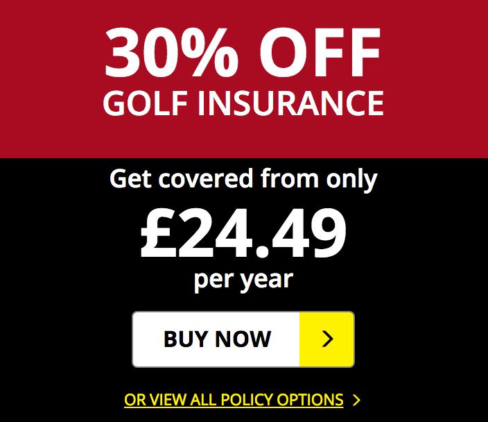 Golf Care Golf Care: 30% off golf insurance