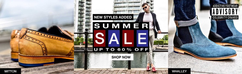 Goodwin Smith Goodwin Smith: Summer Sale up to 60% off men's shoes