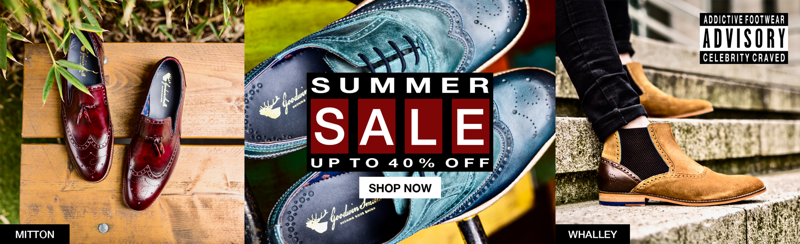 Goodwin Smith: Summer Sale up to 40% off men's shoes