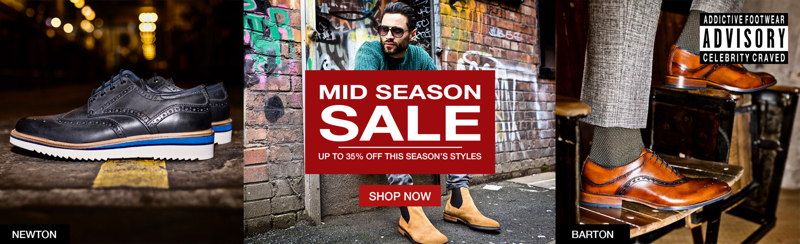 Goodwin Smith: Mid Season Sale up to 35% off men's fashion