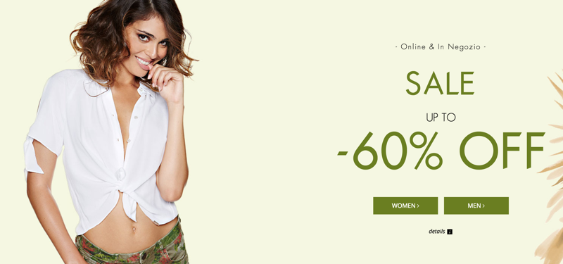 Guess: Sale up to 60% off women's and men's fashion