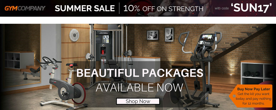 Gymcompany: 10% off strength equipment