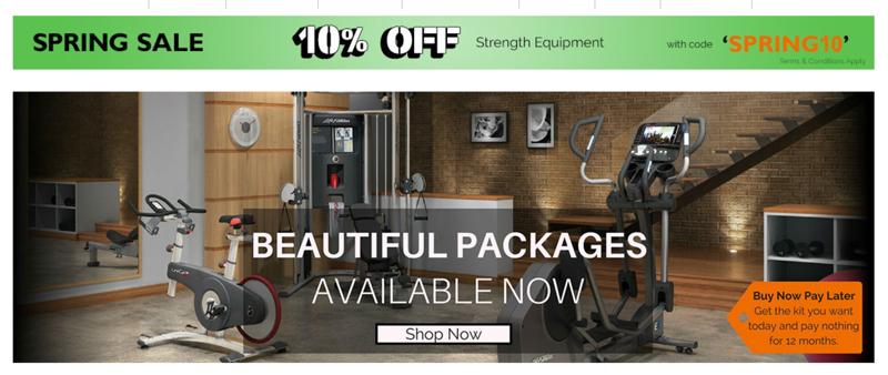 Gymcompany: Sale 10% off strength equipment