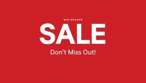 H&M: Mid Season Sale
