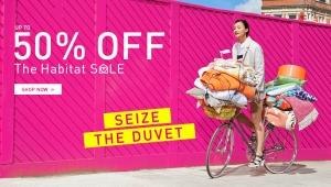 Habitat: sale up to 50% off