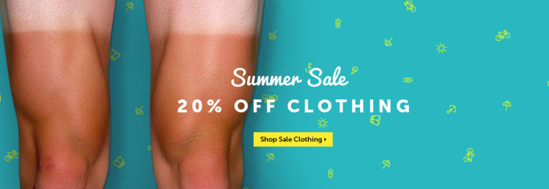Hargroves Cycles: Summer Sale 20% off clothing