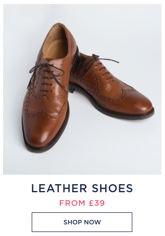 Hawes & Curtis: leather shoes from £39