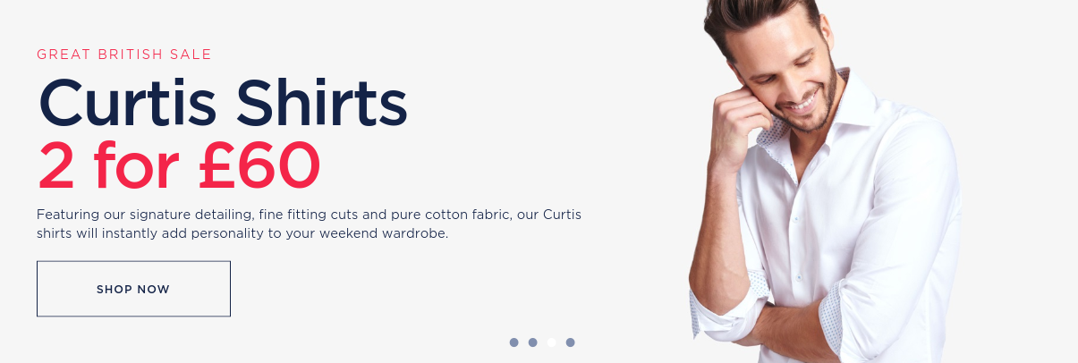 Hawes & Curtis: Curtis casual shirts from £22
