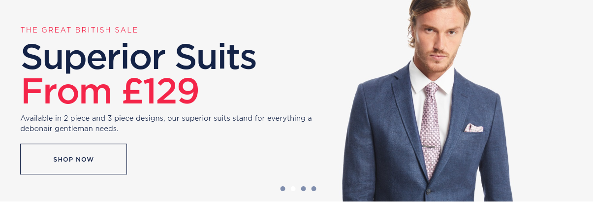 Hawes & Curtis: superior suits from £129