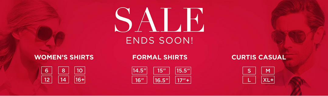 Hawes & Curtis: Sale even over 50% off for woman's and men's shirts