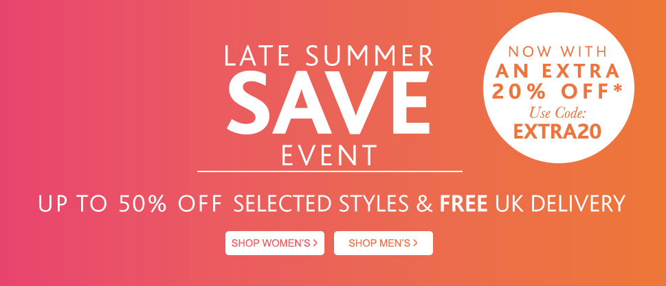Hotter Shoes: extra 20% off for sale products