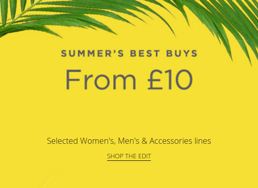 House of Fraser House of Fraser: selected womens, mens and accessories lines from £10