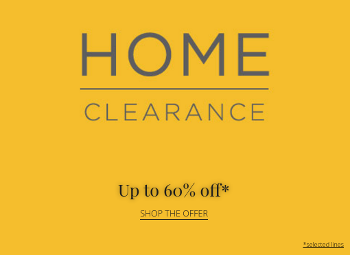 House of Fraser House of Fraser: Sale up to 60% off home and furniture
