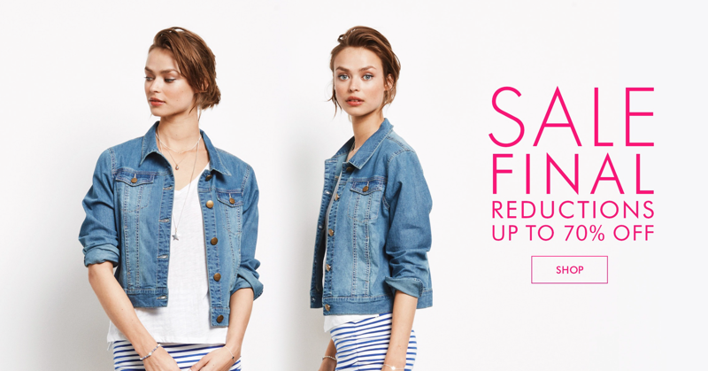 Hush: Sale up to 70% off clothing