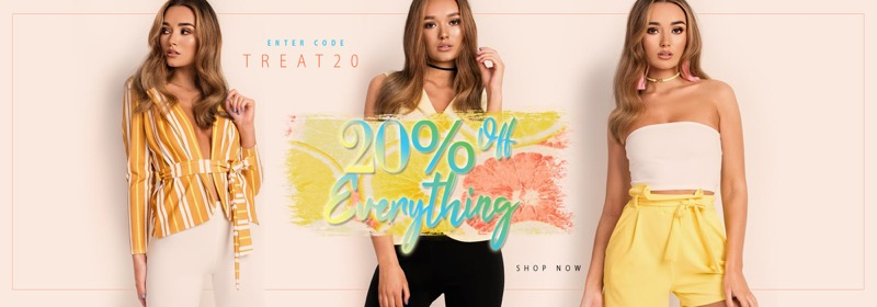 Ikrush: 20% off women's fashion