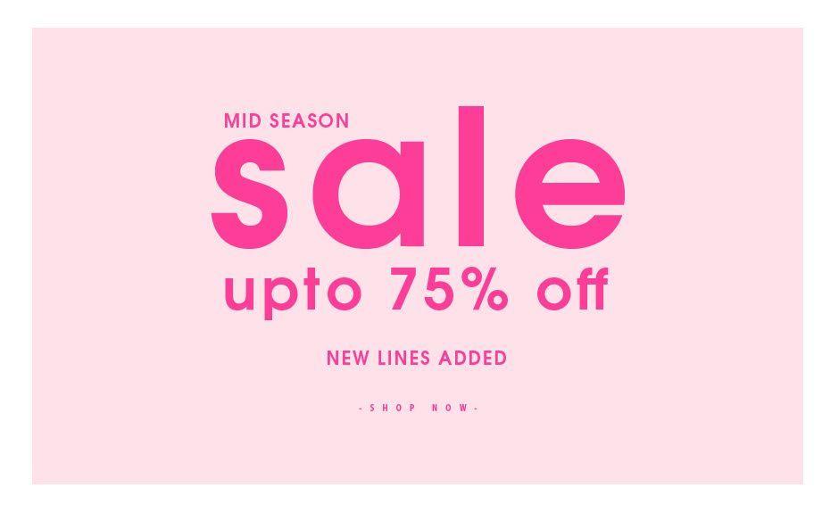 Ikrush Ikrush: Mid Season Sale up to 75% off clothing & fashion