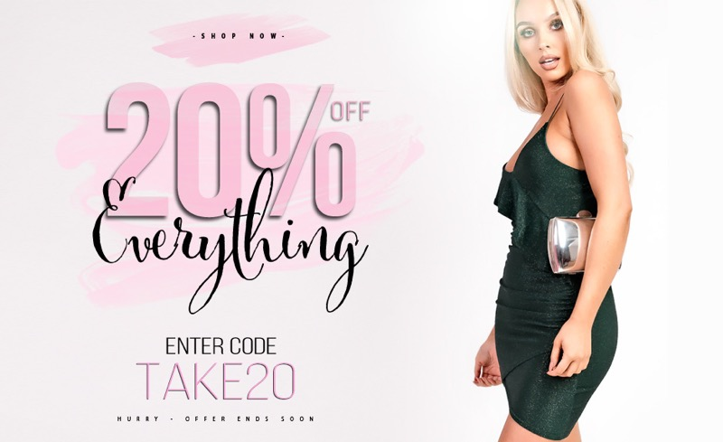 Ikrush Ikrush: 20% off ladies clothing and accessories
