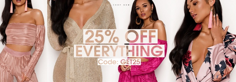 Ikrush: 25% off women's clothes
