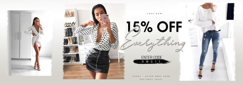 Ikrush: 15% off women's fashion