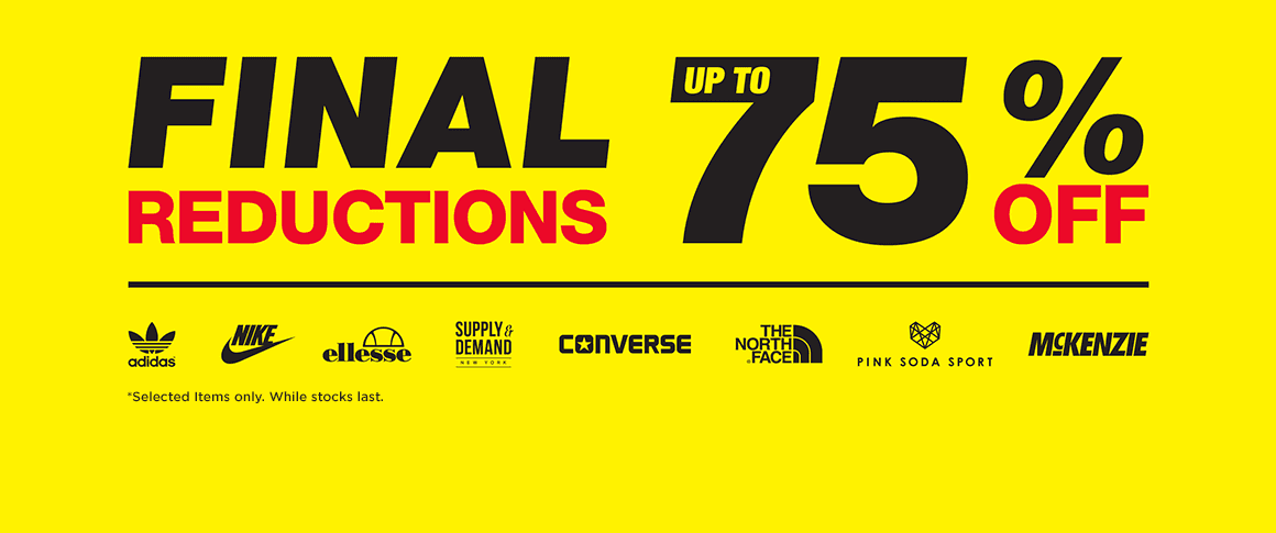 JD Sport Fashion  Final Sale up to 75% off sport fashion 01c4b783f