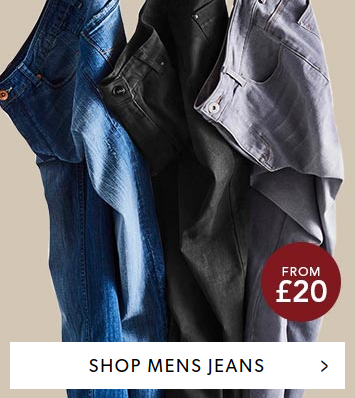JD Williams: mens jeans from £20