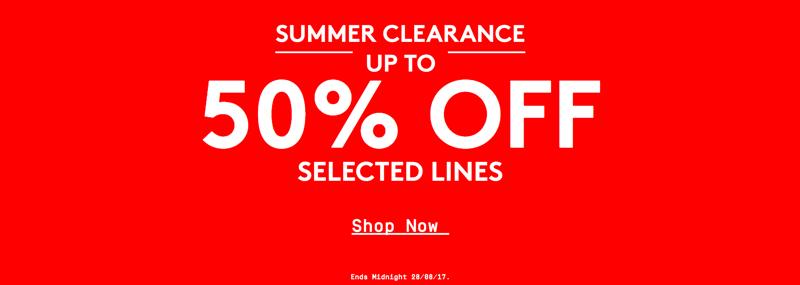 Jacamo Jacamo: Summer Clearance up to 50% off men's clothing & fashion