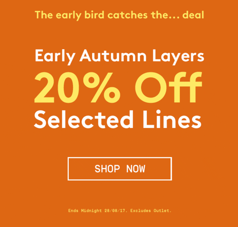 Jacamo: 20% off autumn men's selected lines