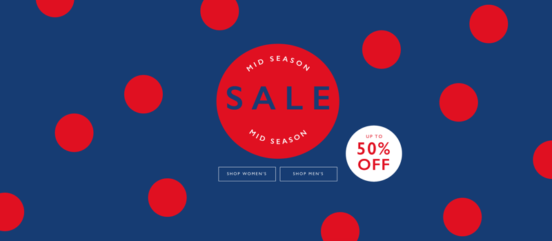 Jack Wills Jack Wills: Mid Season Sale up to 50% off women's and men's fashion